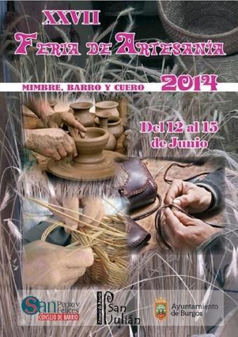 Feria de Artesanías del Mimbre - Barro y Cuero de Burgos