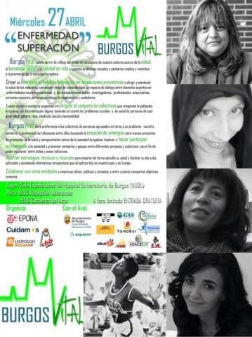 Tercera Edición Burgos Vital  @ Galería Comercial  del Hospital Universitario de Burgos