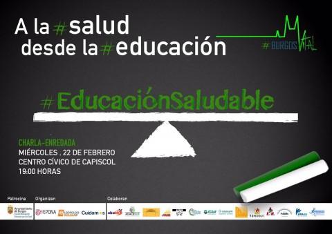 #Salud desde la Educación   #BurgosVital